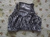 ❥ Top com estampa de Zebra